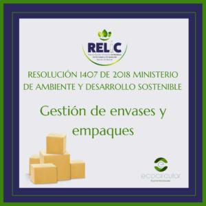 Ecocircular Relic reciclaje